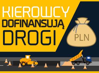 Kierowcy dofinansują drogi