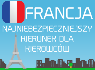 Francja to najniebezpieczniejszy kierunek dla kierowców