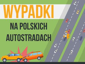 Statystyki wypadków na polskich autostradach