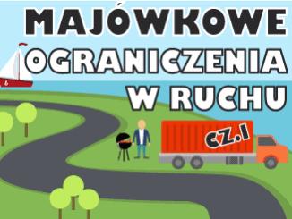 Majówkowe ograniczenia w ruchu cz.1