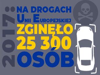 Statystyki wypadków na drogach Unii Europejskiej