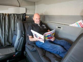 Włochy: Zakaz odpoczynku w kabinie od maja 2018