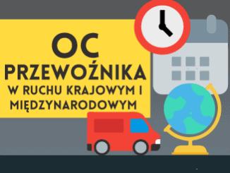 OC Przewoźnika w ruchu krajowym i międzynarodowym