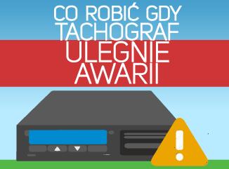 Co zrobić, gdy tachograf ulegnie awarii?