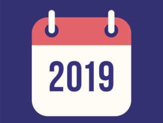 Kalendarz świąt i dni wolnych w Europie w 2019 roku